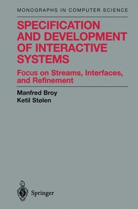 Specification and Development of Interactive Systems