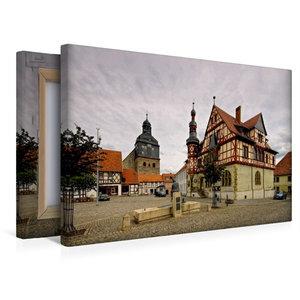 Premium Textil-Leinwand 45 cm x 30 cm quer Harzgerode