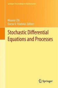 Stochastic Differential Equations and Processes