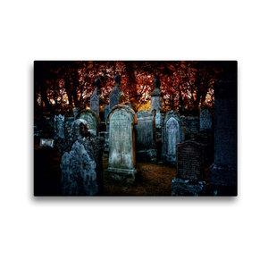 Premium Textil-Leinwand 45 cm x 30 cm quer Gothic Fantasy - Wart