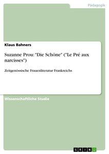 """Suzanne Prou: """"Die Schöne"""" (""""Le Pré aux narcisses"""")"""