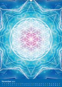 Blume des Lebens - Harmonie durch Symbolkraft (Wandkalender 2019