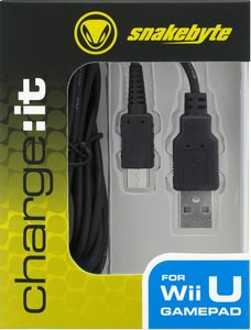 charge:it - USB Ladekabel für Nintendo Wii/WiiU-Pro Controller,