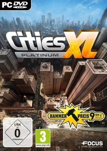 Cities XL Platinum (Hammerpreis). Für Windows XP/Vista/7