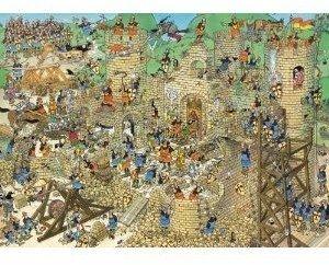 Jumbo Spiele 17213 - Jan van Haasteren: Mittelalter, 1000 Teile