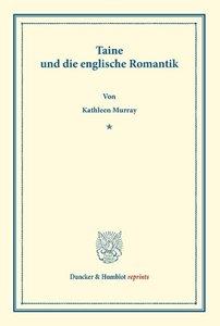 Taine und die englische Romantik
