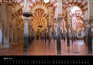 Andalusien (Wandkalender 2016 DIN A4 quer)