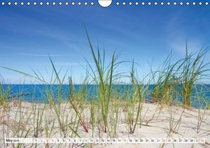 Sun, Beach & Ocean / UK - Version (Wall Calendar 2015 DIN A4 Lan