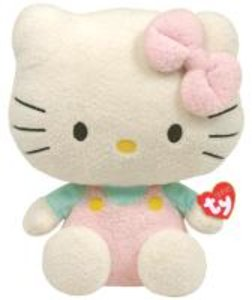 Hello Kitty Pluffie-Over. rosa/mint