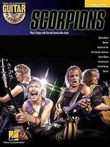 Guitar Play Along Volume 174: Scorpions