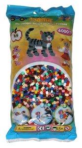 Hama 205676 - Bügel - Perlen, 6000 Stück