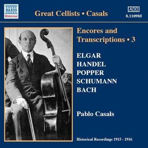 Encores+Transcriptions Vol.3