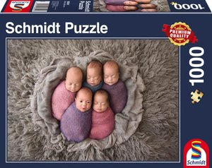 Fünf auf einen Streich, 1.000 Teile Puzzle