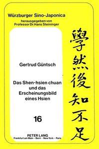 Das Shen-hsien chuan und das Erscheinungsbild eines Hsien