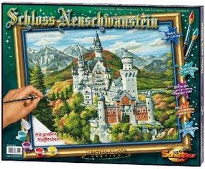 Schipper 609350551 - Schloss Neuschwanstein, MNZ, Malen nach Zah