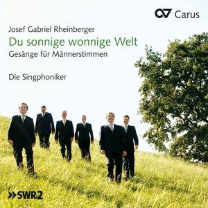 Du sonnige wonnige Welt-Musik für Männerchor