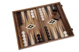 Philos 1817 - Backgammon POLYFADOS, groß,