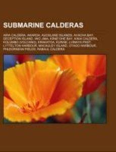 Submarine calderas
