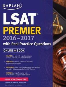 LSAT PREMIER 2016 REAL PRACTICE QUESTIO