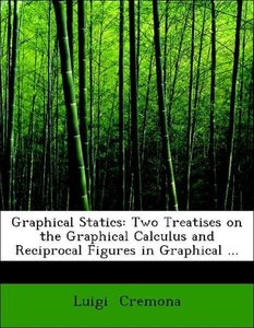 Graphical Statics: Two Treatises on the Graphical Calculus and R