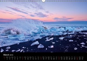 Traveling the South of Iceland (Wall Calendar 2015 DIN A3 Landsc