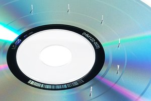 RONOL CD-DVD ROM Lens-Cleaner mit 6 Bürsten und Anwenderprogramm