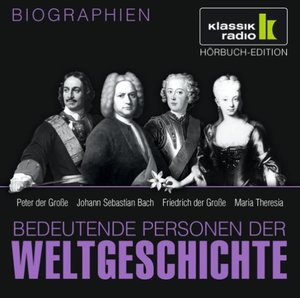 Peter Der Große/Bach/Maria Theresia/+