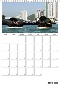 Hong Kong - Fragrant Harbour (Wall Calendar 2015 DIN A3 Portrait
