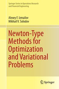 Newton-Type Methods for Optimization and Variational Problems