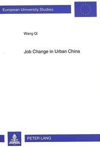 Job Change in Urban China