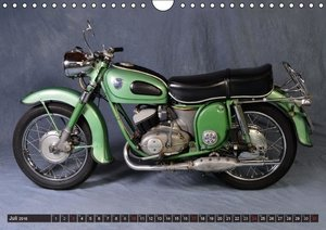 Deutsche Motorrad Oldtimer (Wandkalender 2016 DIN A4 quer)