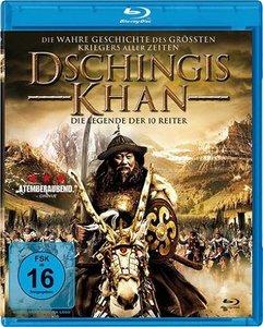 Dschingis Khan-Die Legende der 10 Reiter-Blu-ray