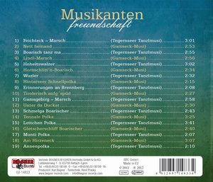 Musikantenfreundschaft