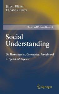 Social Understanding