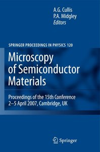 Microscopy of Semiconducting Materials 2007: Proceedings of the