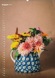 Blumenschmuck in Bunzlau Keramik
