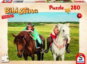 Bibi + Tina, Puzze zum Film, Amadeus und Sabrina, 280 Teile Puzz