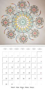 The Divine Sacred Feminine (Wall Calendar 2015 300 × 300 mm Squa