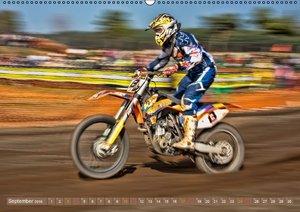 Motocross - mit vollem Risiko (Wandkalender 2016 DIN A2 quer)