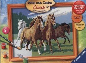 Ravensburger 28374 - Wildpferde, MNZ, Malen nach Zahlen