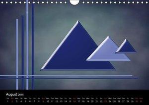 Blue Moments (Wall Calendar 2015 DIN A4 Landscape)