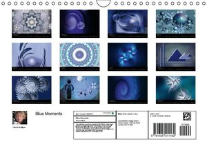 Blue Moments (Wall Calendar 2015 DIN A4 Landscape)
