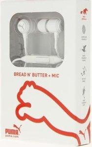 PUMA Bread N Butter In-Ear Kopfhörer mit Mikrofon, weiss