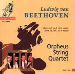 Streichquartette op.18 3/op.59 1