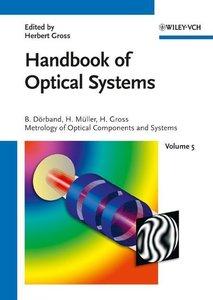 Handbook of Optical Systems 5