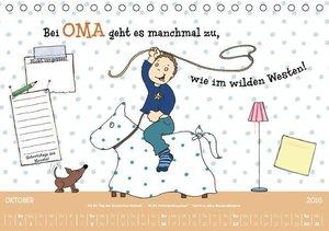 Oma ist die Beste (Tischkalender 2016 DIN A5 quer)