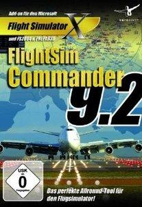 FlightSim Commander 9.2 - AddOn für den Flight Simulator X
