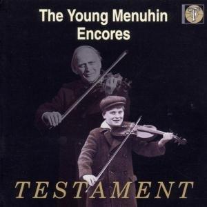 The Young Menuhin-Encores