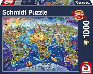 Entdecke unsere Welt, 1.000 Teile Puzzle