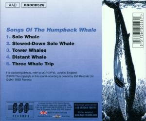 Songs Of The Humpbacked Whale